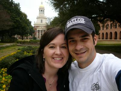Ryan and Jeni at Baylor